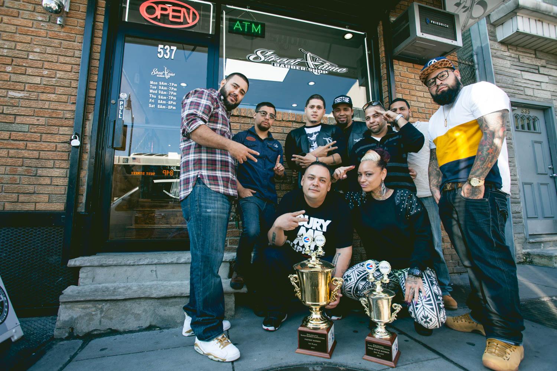 Barber Shop Jersey City : Street Fame - chicpeaJC