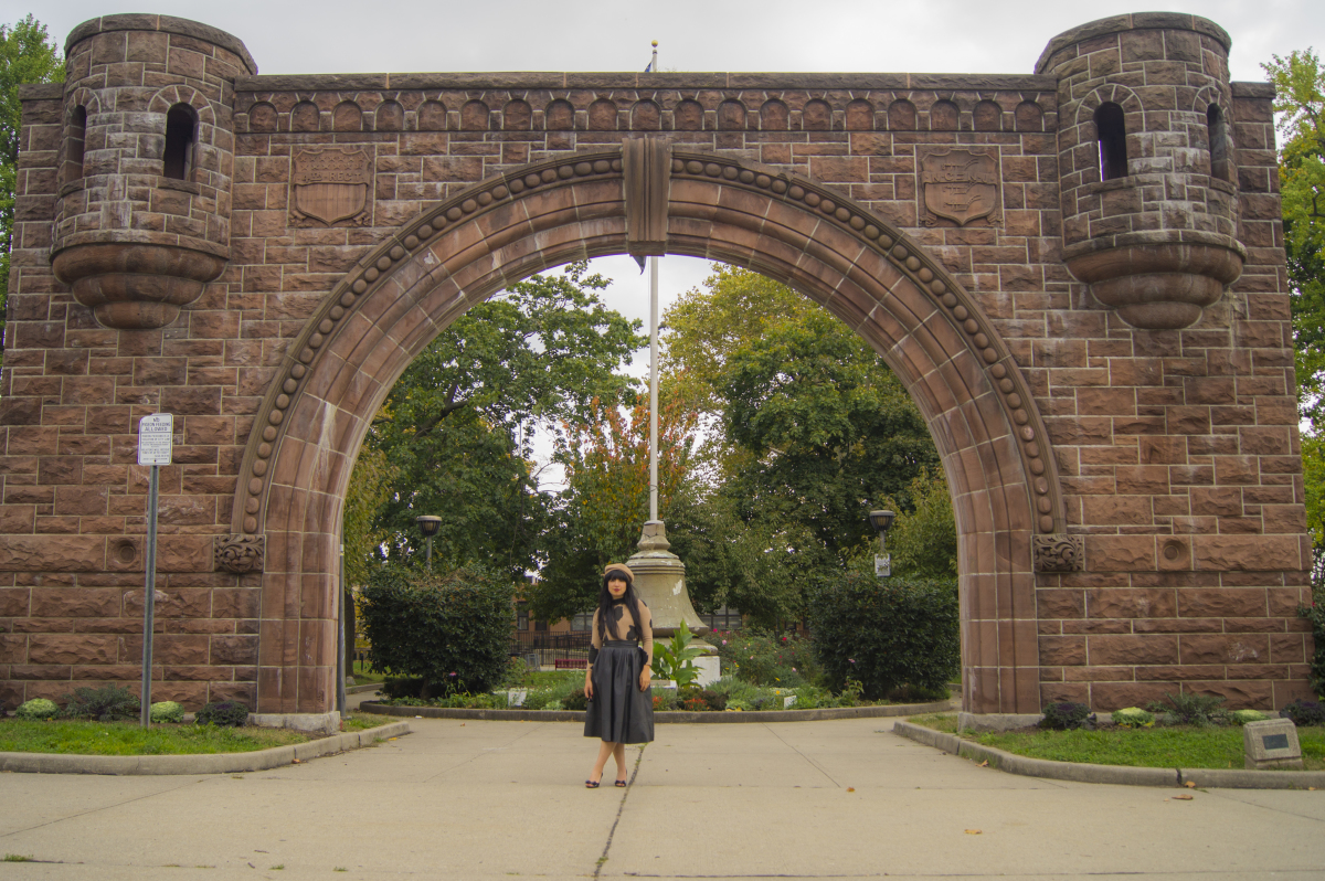 Pershing Field Arch