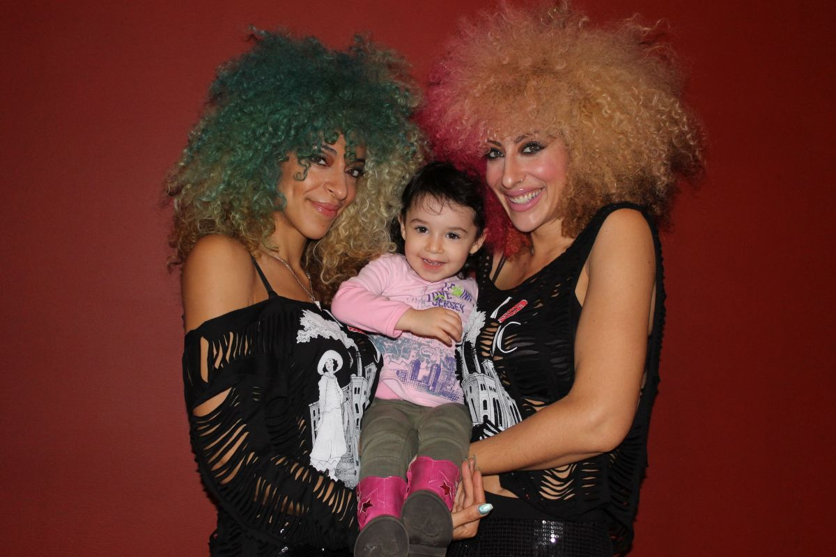 The Big Hair Girls and a Mini Chicpea