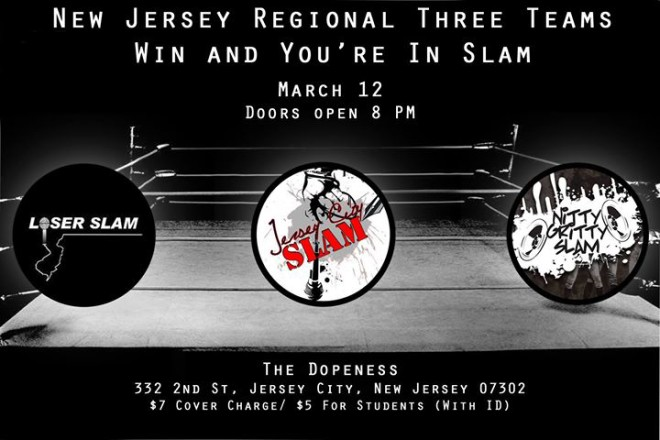 Jersey City Slam's Win and You're In Regional Poetry Slam