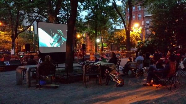 Films in Van Vorst Park