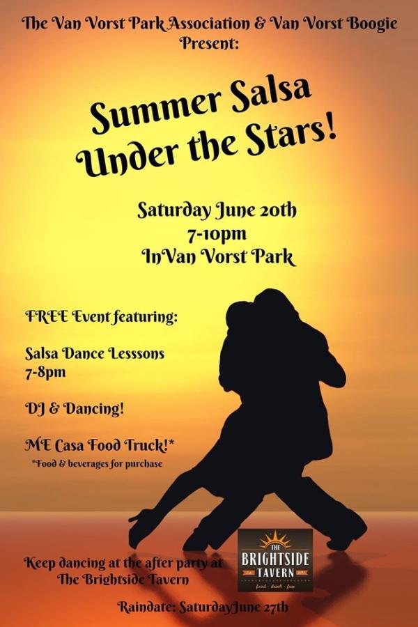 Summer Salsa in Van Vorst Park