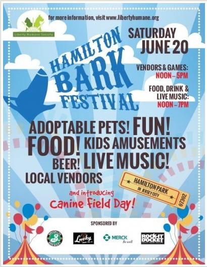 """2nd annual Hamilton """"Bark"""" Festival!"""
