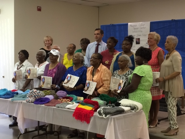12 Seniors Awarded for Donating over 100 Articles of Clothing