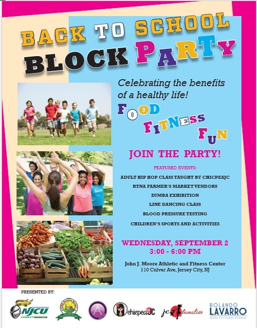 Back to School BLOCK PARTY!
