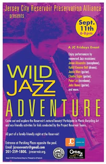 Wild Jazz Adventure at The Jersey City Reservoir