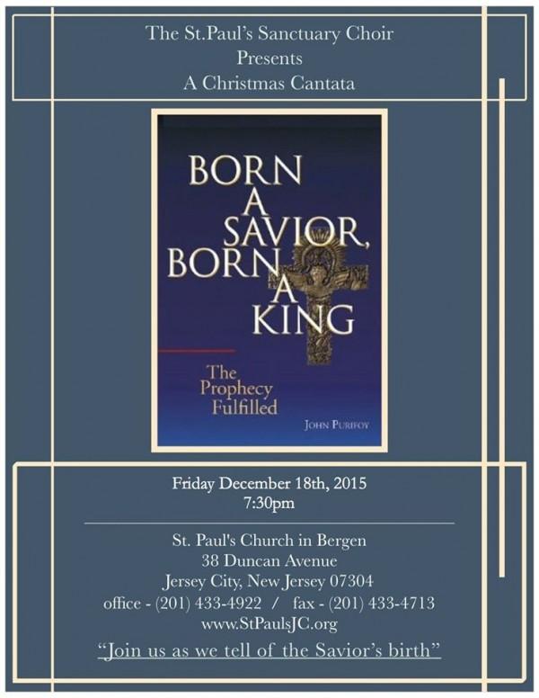 Christmas Cantata: Born a Savior, Born a King