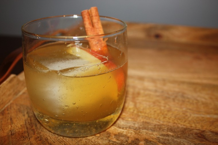 Apple Bourbon Cocktail from The Hamilton Inn