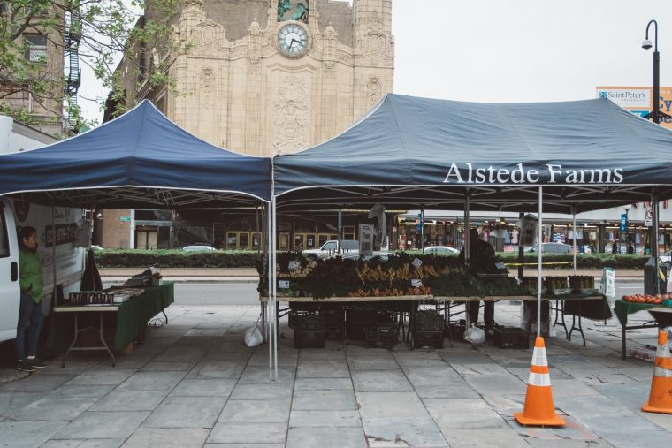 The Journal Square Farmer's Market is Back!