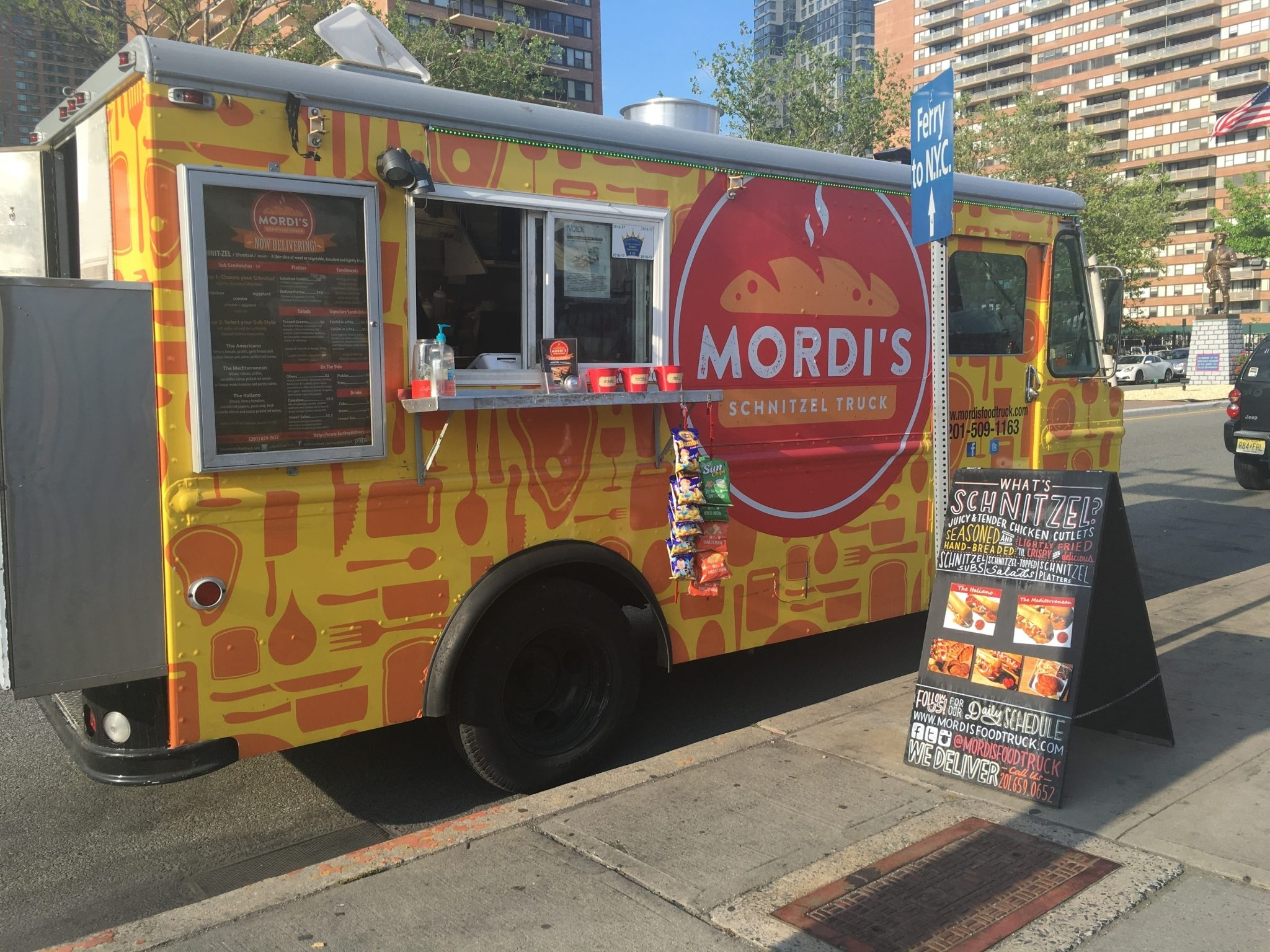 Top 13 Jersey City Food Trucks