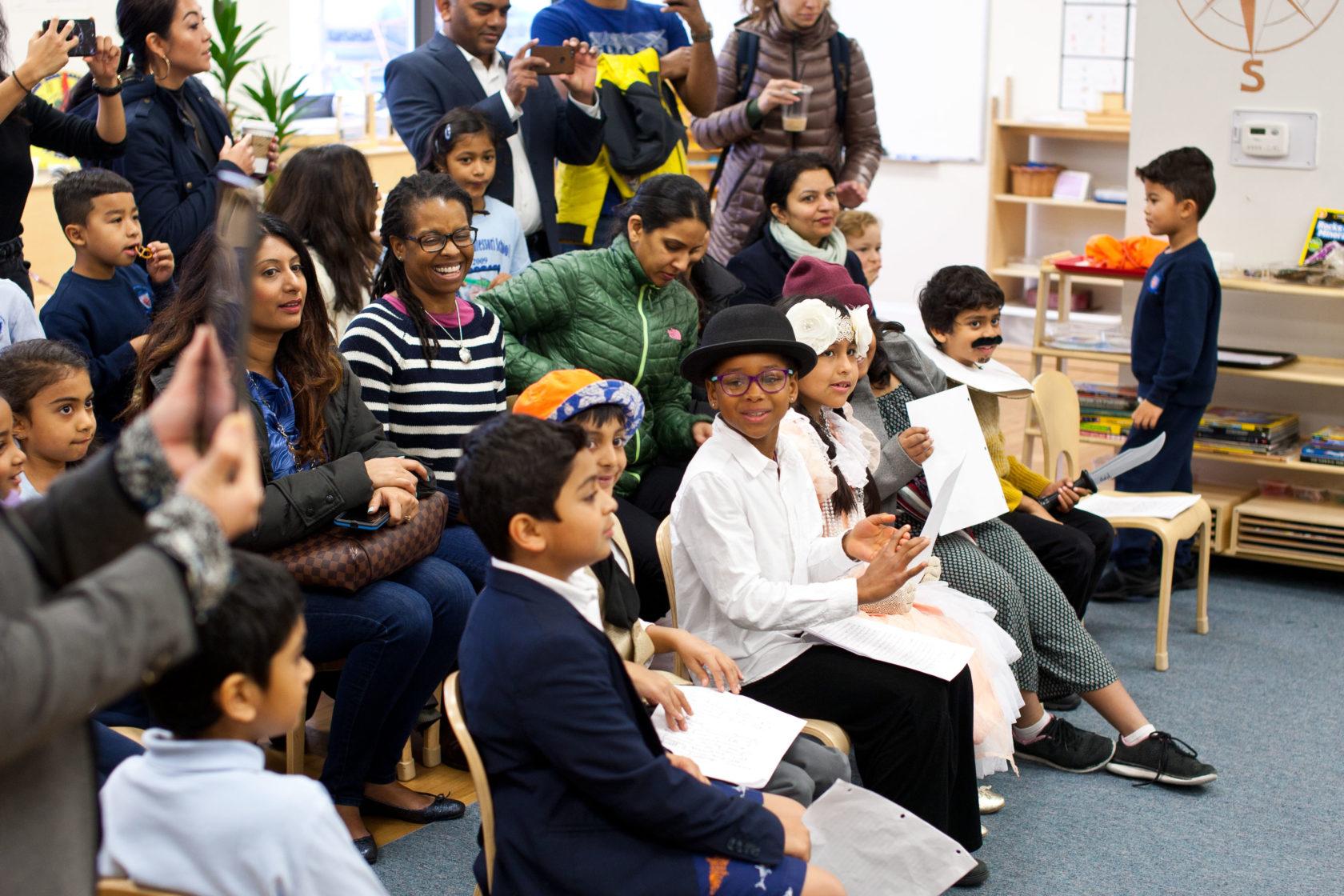 Hudson Montessori's 2018 Theme Kick Off