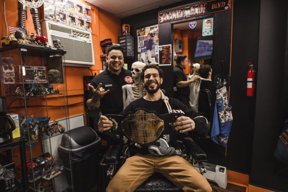 Barbers of Hudson County: David's Barbershop