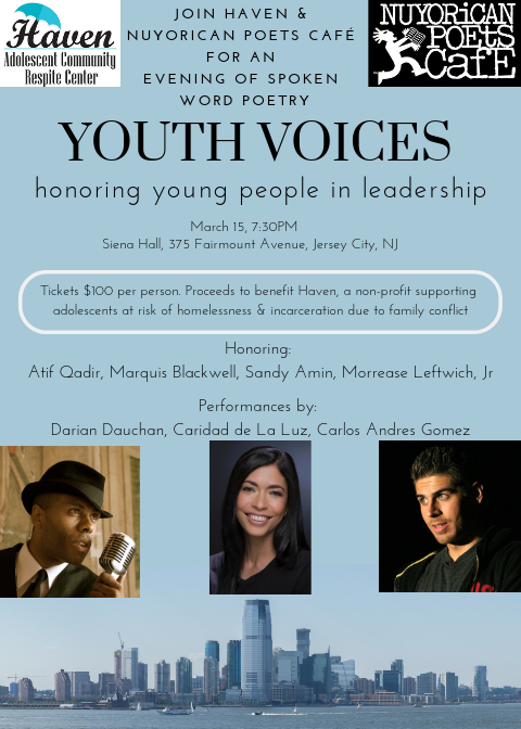 Youth Voices Spoken Poetry