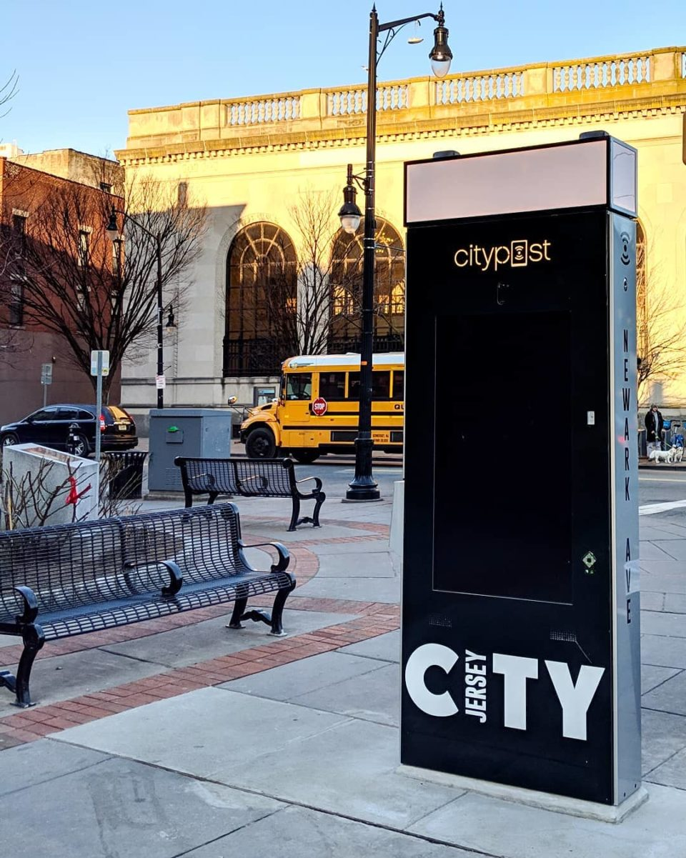 What's the Deal with those Kiosks in Jersey City?