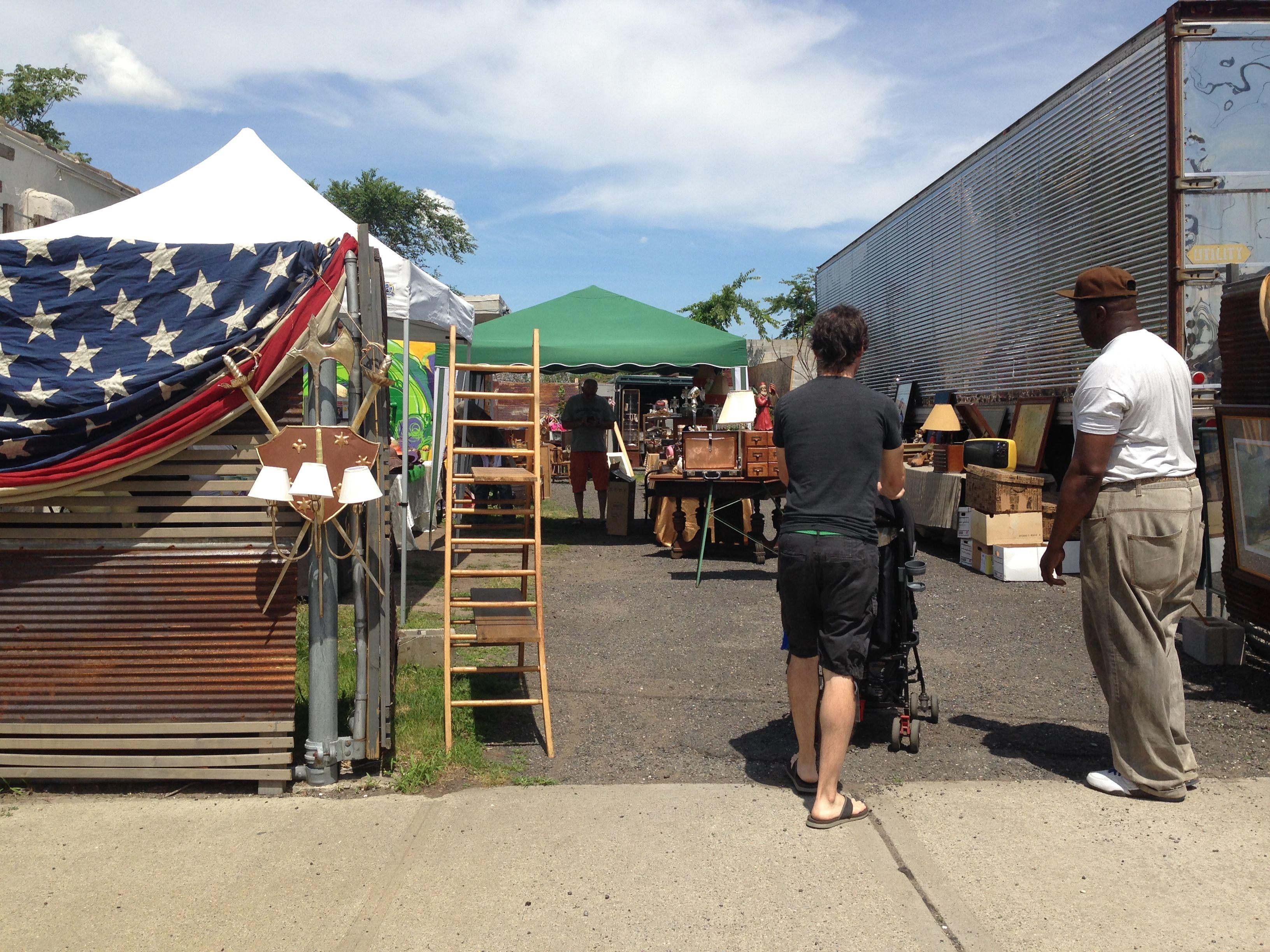 jersey city flea market