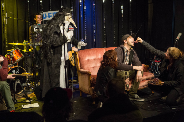 "2015-4-25 Jersey City NJ. ""Prove it all Night"" variety show at WFMU featuring Pat Byrne. Photo: Greg Pallante"