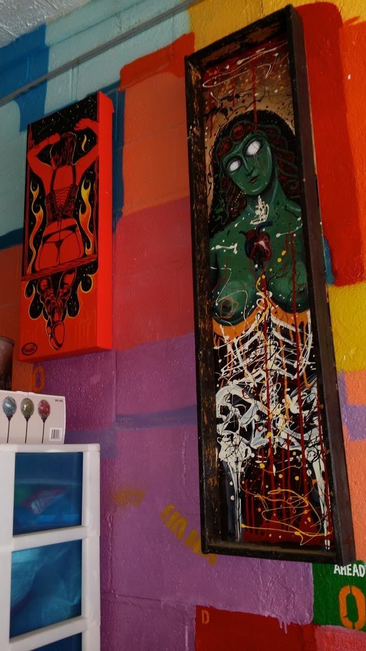 Paintings Contd