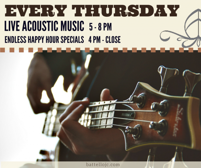 battello acoustic thursday