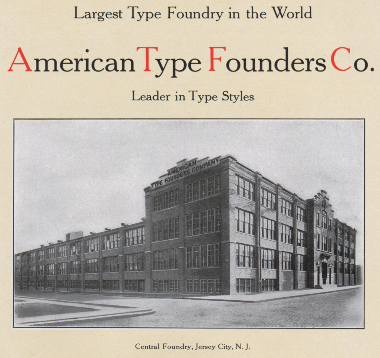 American Type Founders Co 5