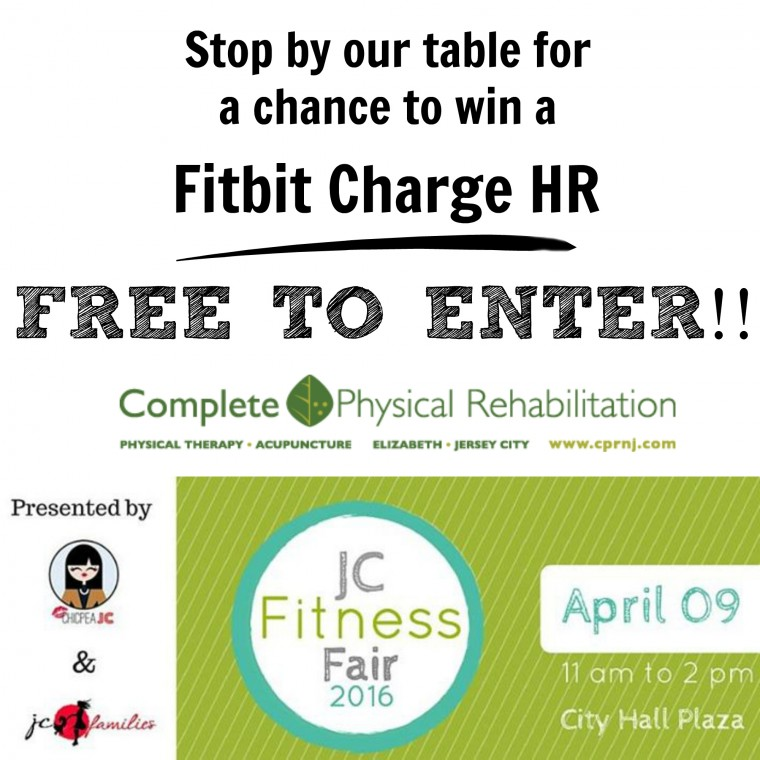 CPR - Fitbit Giveaway - JC Fitness Fair 2016