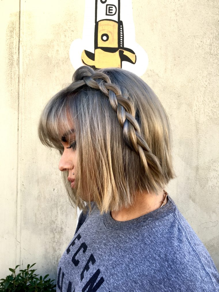 Easy DIY Three Strand Braid