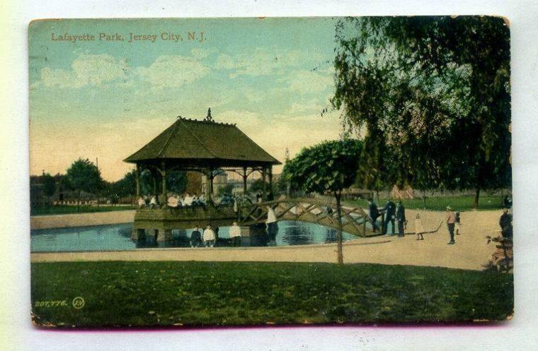 Lafayette Park 1909