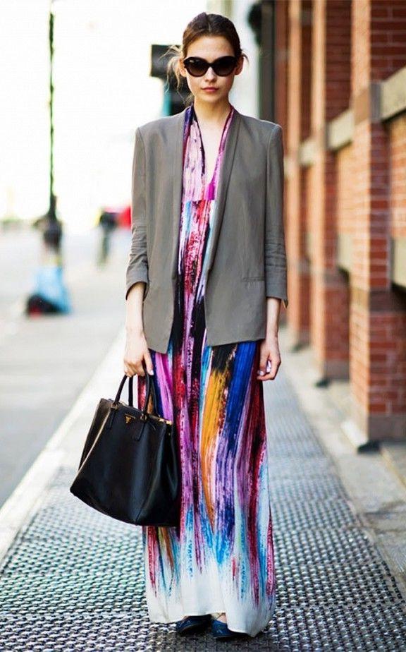 Maxi-Dress-With-Blazer
