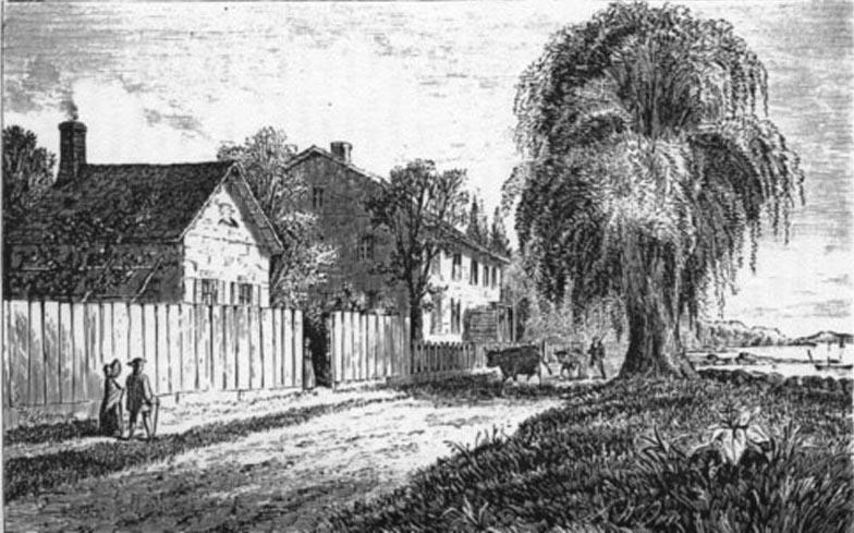 Van Vorst House on Fourth Street