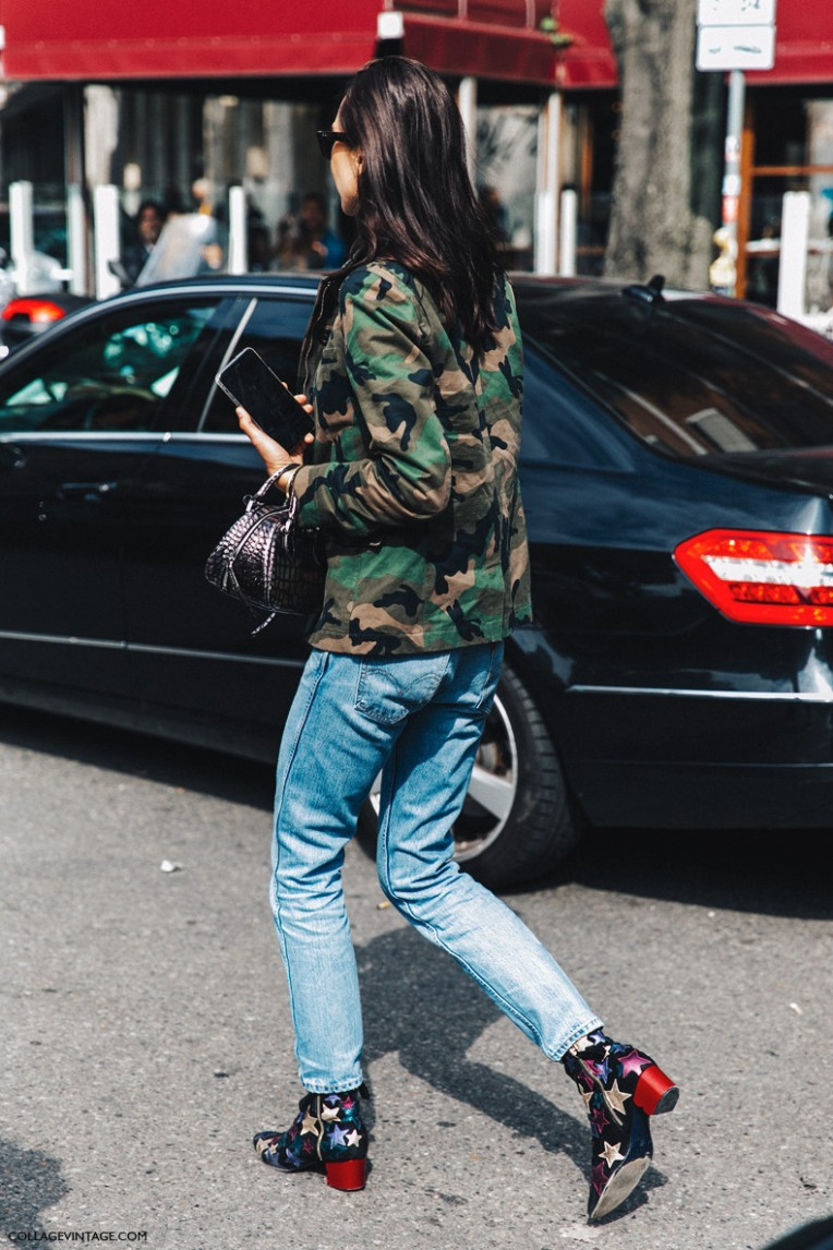 mfw-milan_fashion_week-spring_summer_2016-street_style-say_cheese-military_jacket-levis-stars_boots-tommy_hilfigher-790x1185