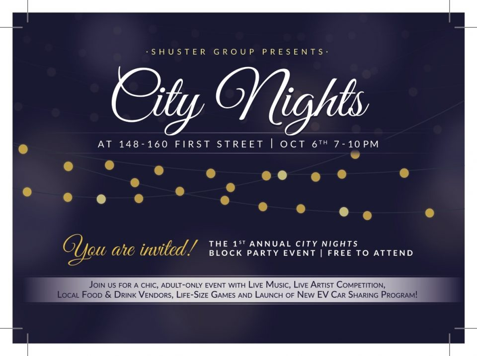 Shuster Group Presents: City Nights Block Party Event