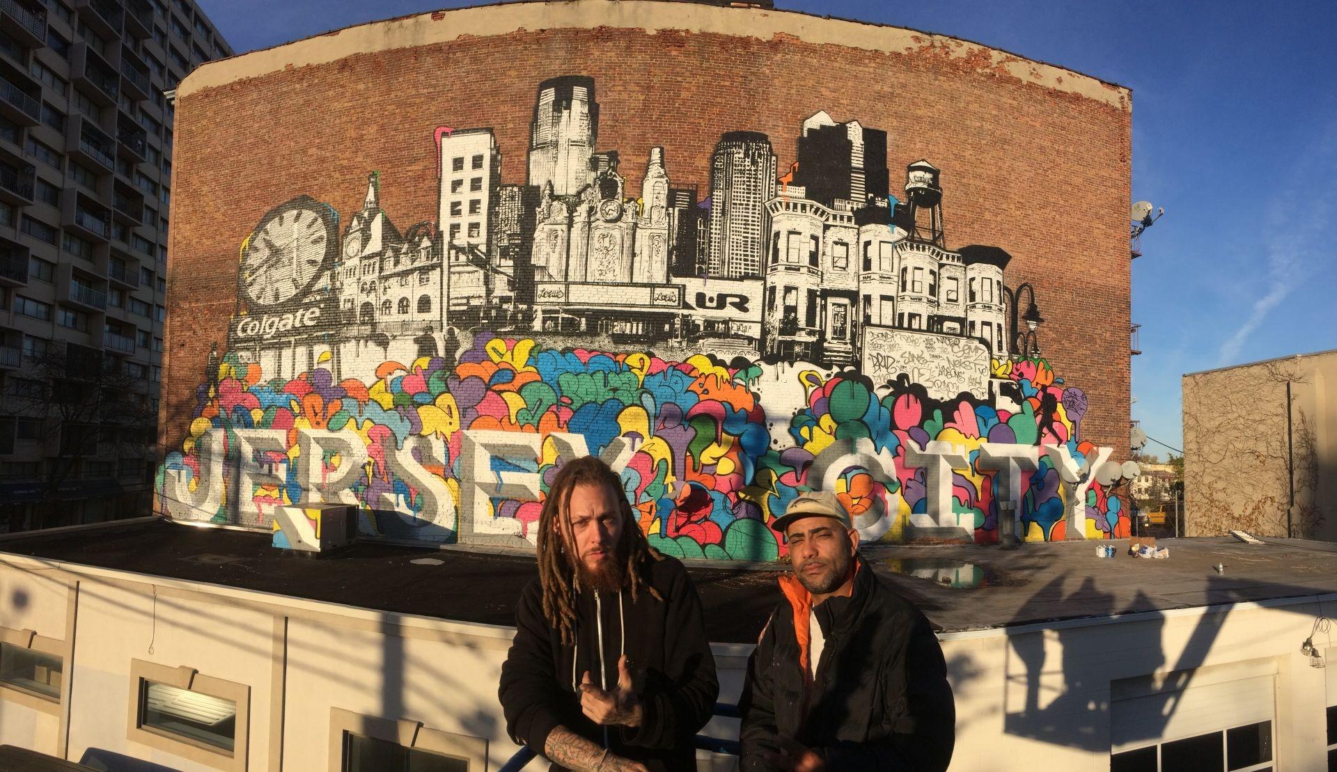 Graffiti art jersey city - Jersey City Mural By Ur New York