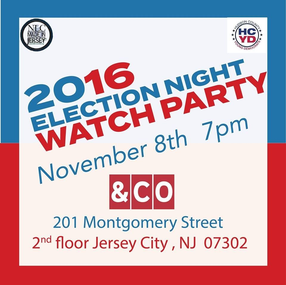 Where To Watch The 2016 Election Results in JC