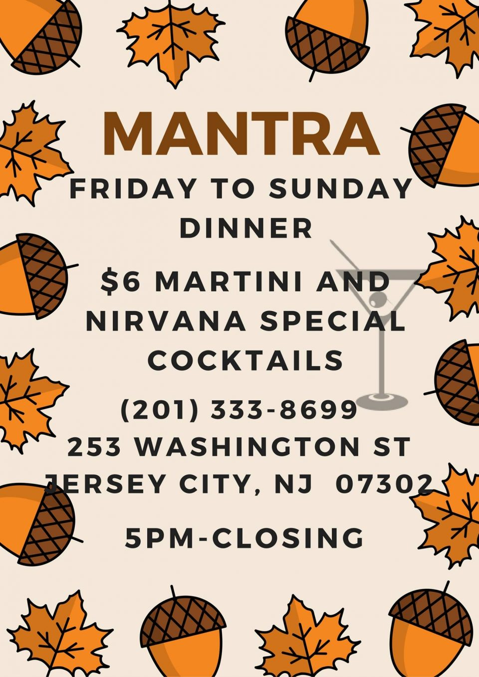 Mantra Restaurant Facebook