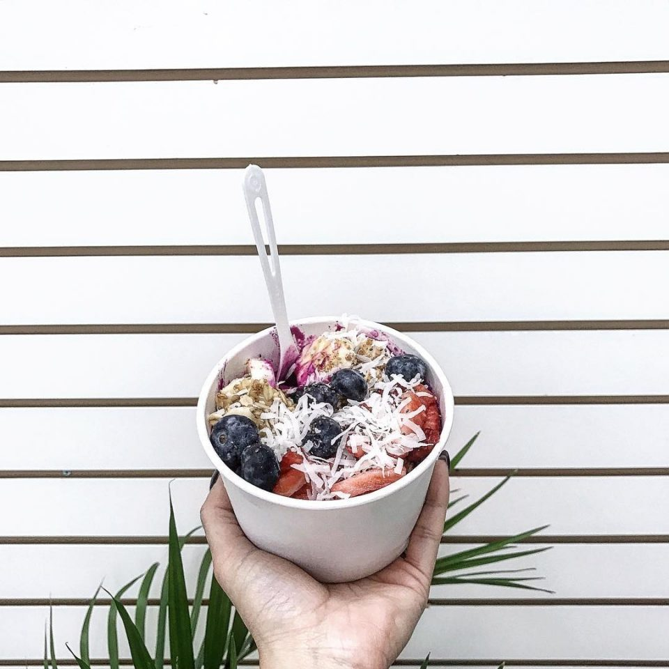 6 Places To Get Açai Bowls in JC