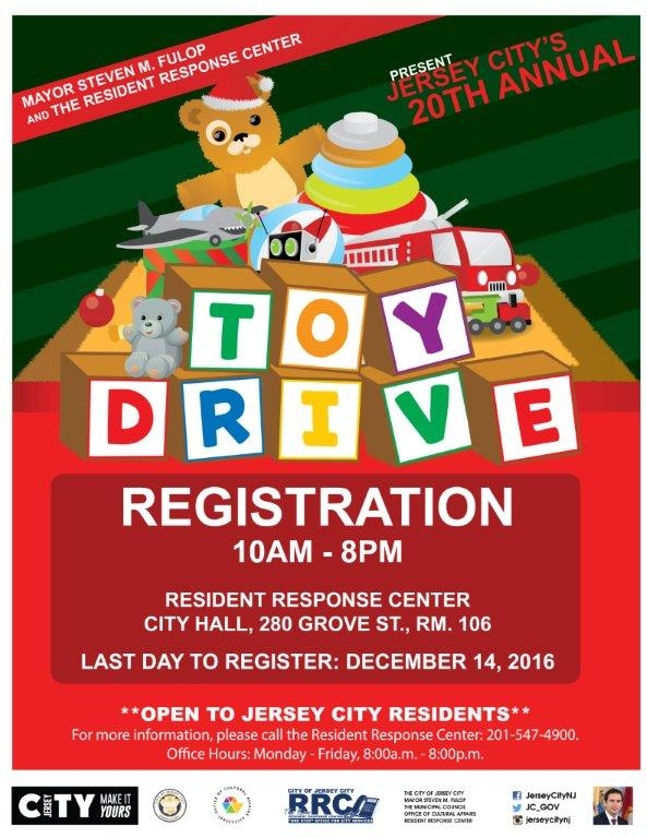 Jersey City's 20th Annual Toy Drive Collection