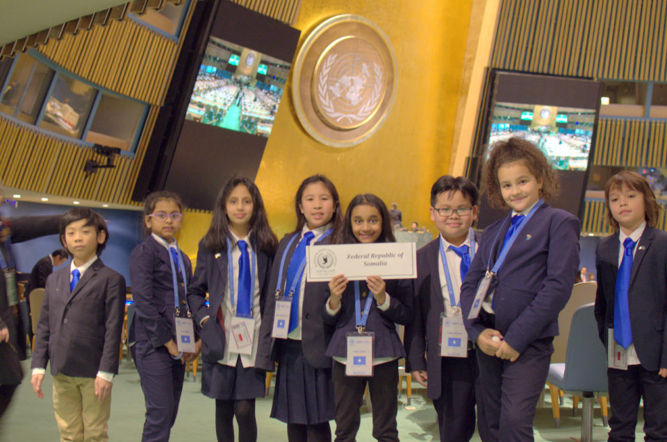 The Montessori Model United Nations Conference in NYC