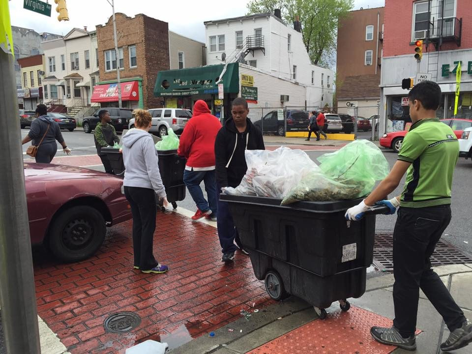 The Second Annual Great Jersey City Clean Up