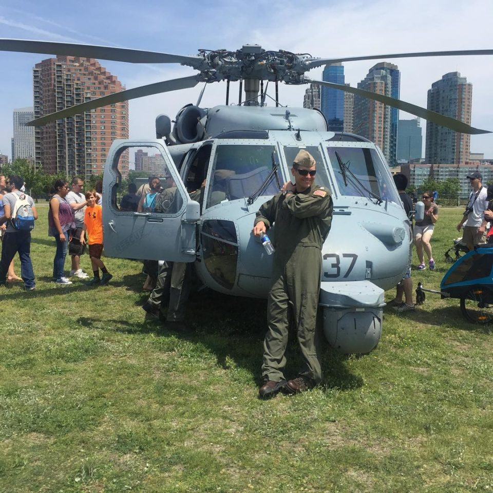 Fleet Week at Liberty State Park
