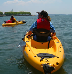 Kayak Eco-Tour at Liberty State Park