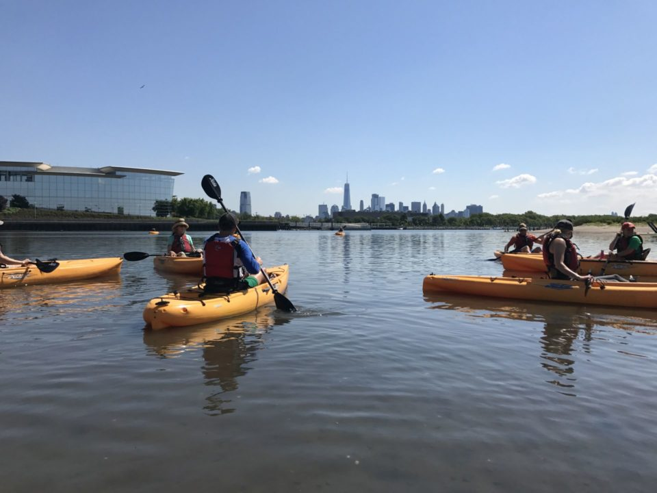 Kayak Tour in Liberty State Park