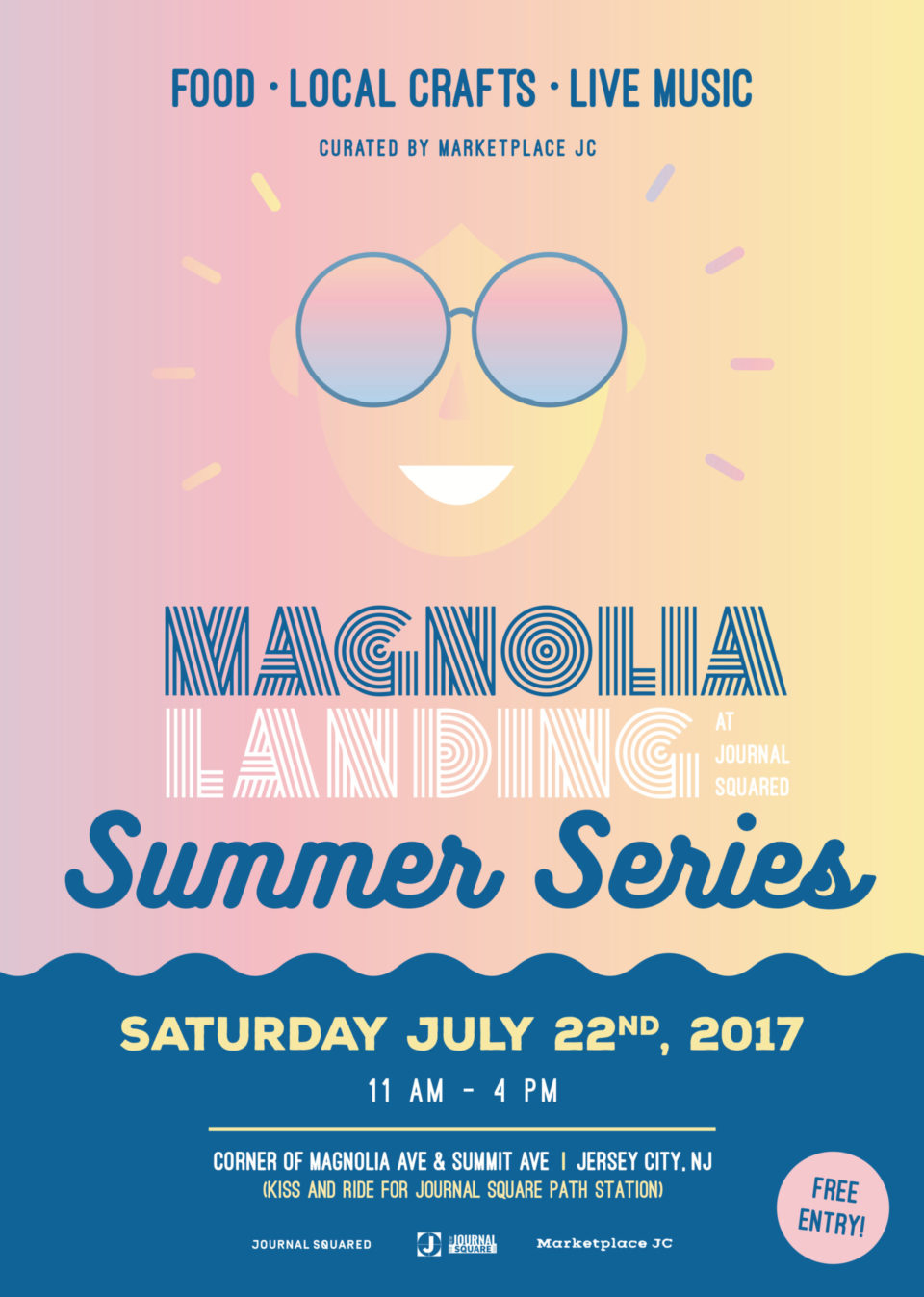 The Magnolia Landing at Journal Squared Summer Series