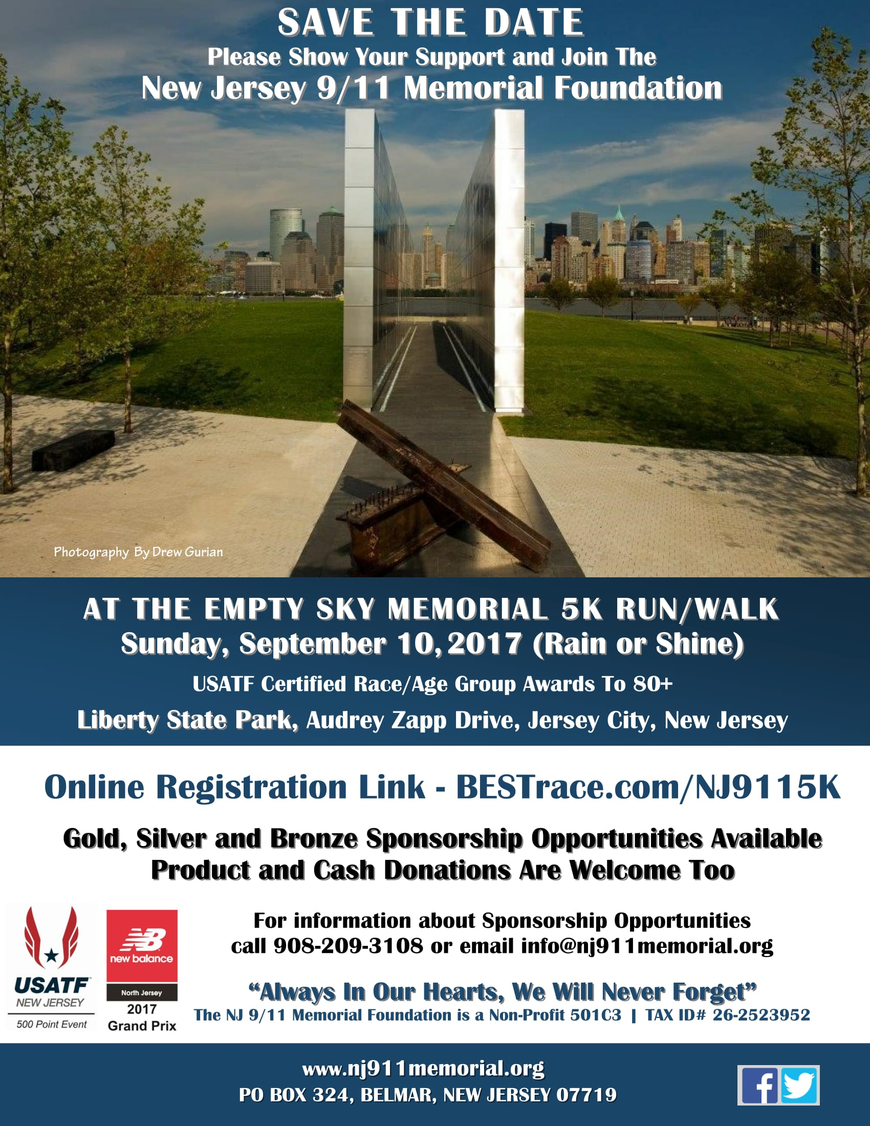Empty Sky Memorial 5K Run/Walk