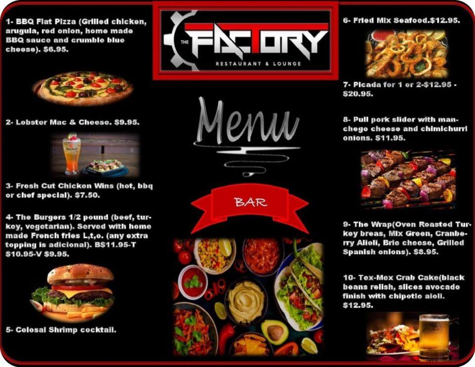 Jersey D S Restaurant Bar Summer Specials