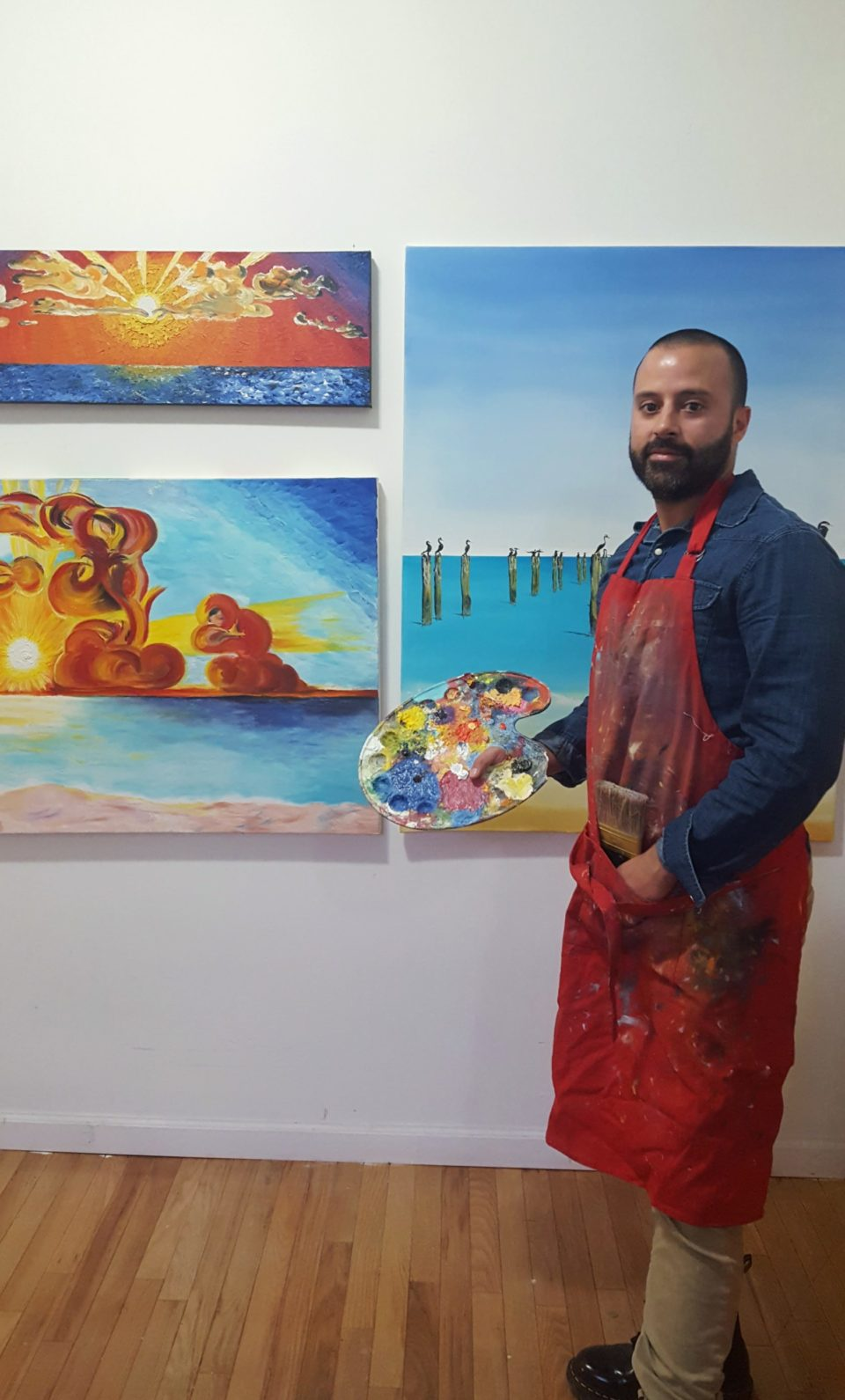 Jersey City Artist Juan Camilo Ospina Londoño