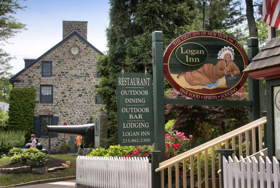 The Logan Inn In New Hope Pa Chicpeajc
