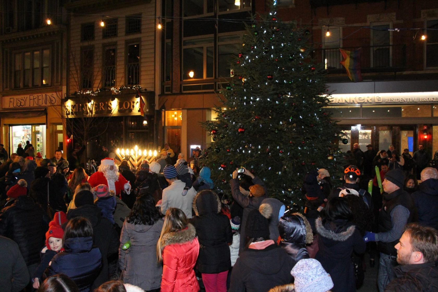 HDSID Annual Christmas Tree & Menorah Lighting