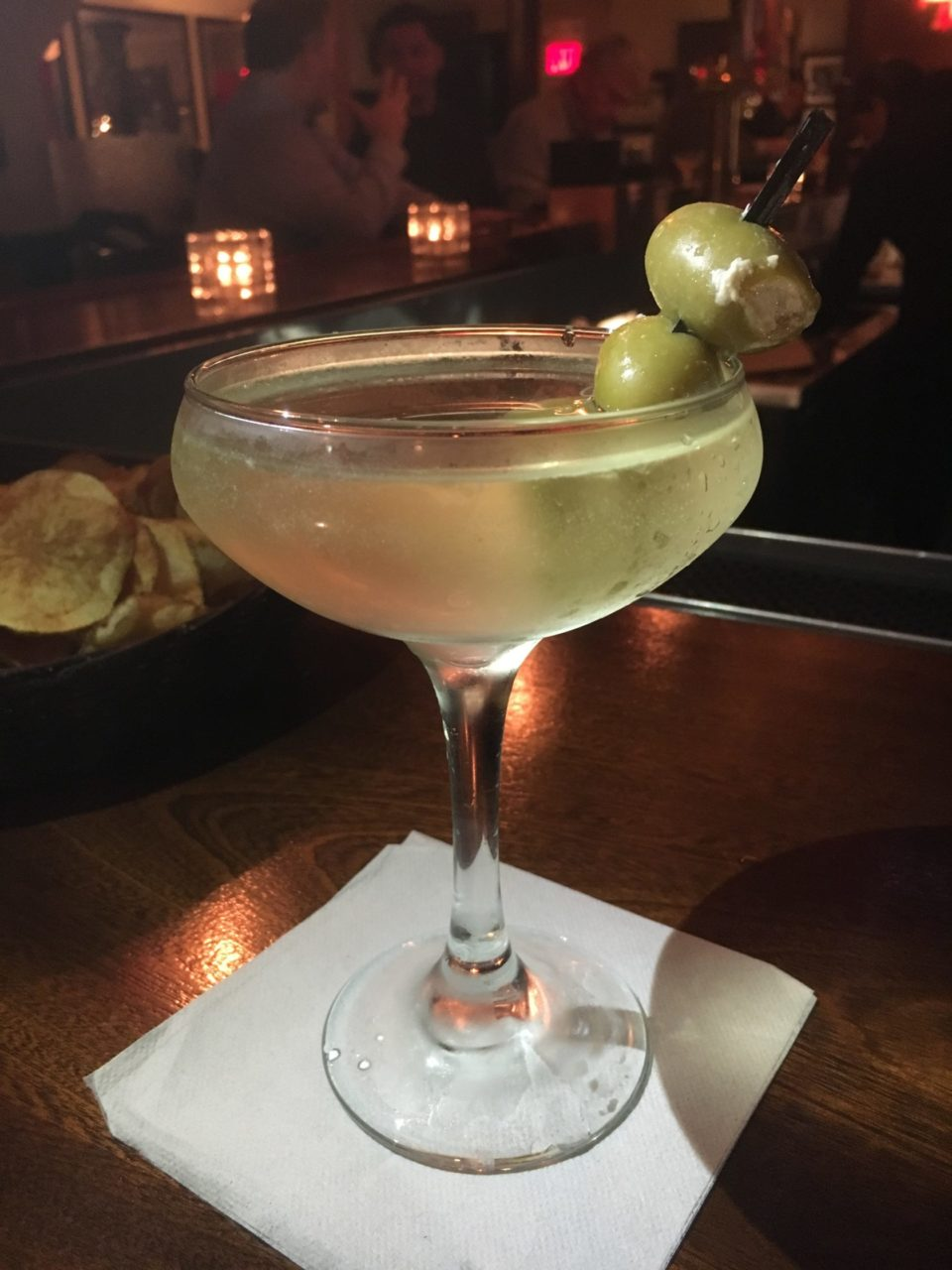 The Hunt for the Best Dirty Martini in Jersey City