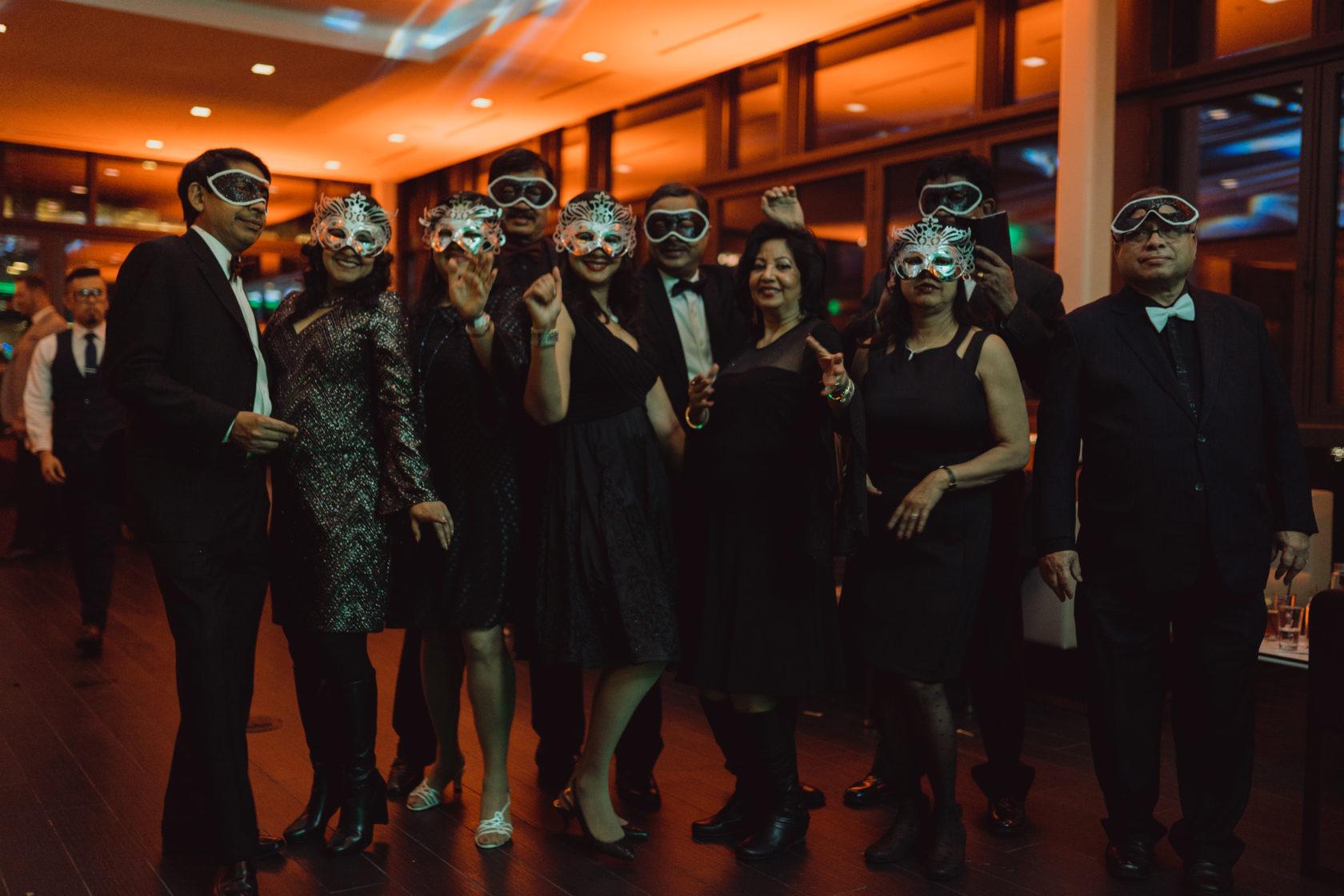 New Year's Eve Masquerade Ball Recap