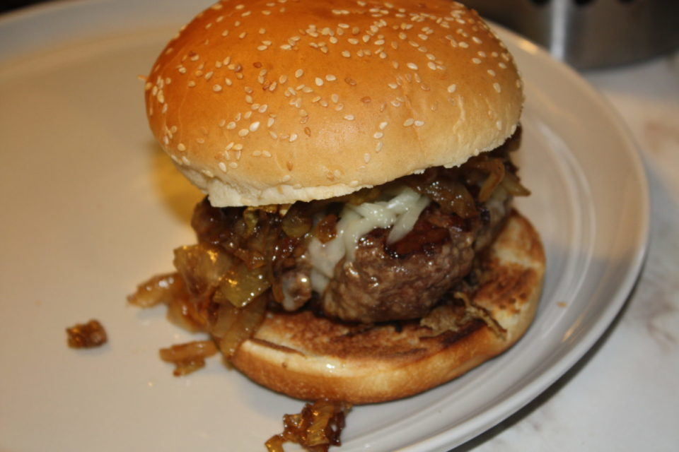 French Onion Soup Burgers