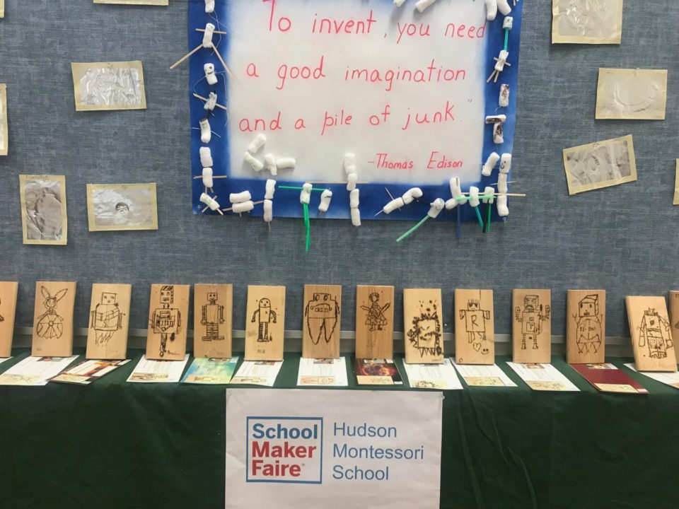 Hudson Montessori School's Maker Faire